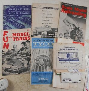Lot of Vintage Train Books & Papers Lionel 1940's-50's