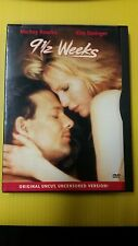 91/2 Weeks  Original DVD, uncut,uncensored version(B3)