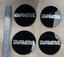Compomotive Wheel Centre Cap Logos 5cm Diameter.NEW genuine compomotive stickers