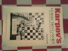 KARPOV'S COLLECTED GAMES 1961-1974