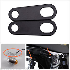 Rear Turn Signal Relocation Holder Shock Bracket Cafe Racer Custom Motorcycle