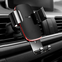 Baseus Gravité Auto Lock Support Voiture Aluminium Pr iPhone X XS XR Samsung GPS