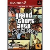 Grand Theft Auto San Andreas (Greatest Hits) PlayStation 2 (PS2) Game *CLEAN VG