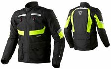 GIACCA MOTO REV'IT REVIT NEPTUNE GTX GORE-TEX 3 TRE STRATI NERO GIALLO FLUO XL