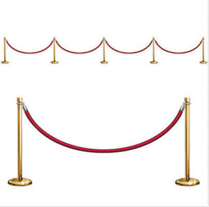 Stanchion Party Props Scene Setter 21ft Long  Hollywood Party Decorations