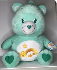 "Nanco Large Jumbo Care Bears Wish Bear Stuffed Plush 22"" with Tags 2003"