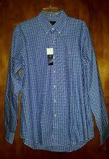 Ralph Lauren Classics Shirt Mens XL Blue White Gingham Check polo NWT $89.50