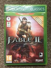 NEW & SEALED Fable II (2) Game Of The Year (GOTY w/DLC) Xbox 360 game (Xbox One)