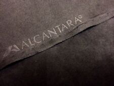 ORIGINAL Alcantara Stoff tief schwarz deep black 150cm breit Preis ab 0,50 Lfm!