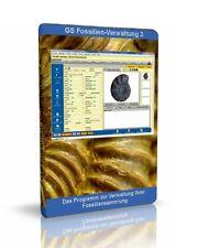 GS Fossilien-Verwaltung 3 - Software Programm zur Verwaltung Ihrer Sammlung