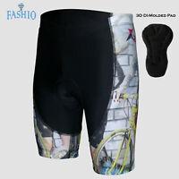 Women's Cycling Riding 3D GEL Padded Shorts Bicycle Wear Bike Lycra Tights Pants