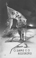 Cartolina - Militare - WW1 - Ci siamo e ci resteremo - 1914
