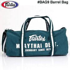 FAIRTEX BAG9 BARREL BAG MUAY THAI KICK BOXING MMA EQUIPMENT ACCESSORIES GREEN