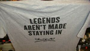 BRAND NEW - Captain Morgan Rum T-Shirt Gray Size Large - PRINT ON BACK
