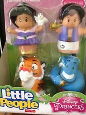 Fisher Price Little People Disney Aladdin and Princess Jasmine and Friends NEW