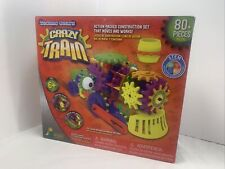 Techno Gears Crazy Train Construction Set The Learning Journey Toy 80 Piece Set