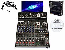 Peavey PV 10AT PV10AT Mixer, karaoke mixer, live sound, small band, guitar mixer