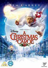 Disney's A Christmas Carol - Jim Carey Dvd New/Sealed