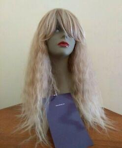 Perruque Long Cheveux Frise Semi Naturel