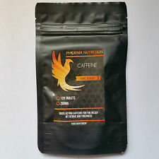 CAFFEINE TABLETS | 240 x 200mg | Pre Workout, Energy & Weight Loss Pro Plus