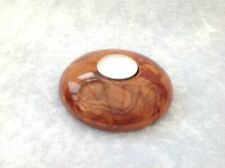 Moroccan Style Hand Made (Cedar) Round Candle/Tealight Holder.
