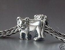 Original Trollbeads Leone * * LIONS * argento 925