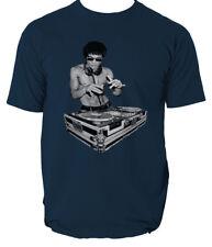 DJ Bruce Lee Worn by Tony Stark Avengers Movie Mens  T shirt  six colours