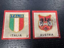 SCUDETTO CALCIATORI PANINI 1969/70 ITALIA / AUSTRIA OTTIMI RECUPERATI