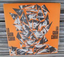 """LA GRAN CURVA IMPULSOS B/W TENSION SPANISH 7"""" SINGLE PS ROCK EN ESPAÑOL PROMO"""