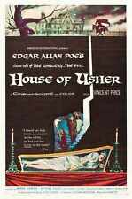 House Of Usher Poster 01 A3 Box Canvas Print