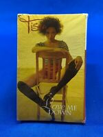 Tisha ‎– Love Me Down | Cassette Tape Single Hip Hop 2 Tracks R&B 1992 [SEALED]