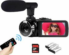 2.7K Video Camera Camcorder Vlogging Camera for YouTube 42MP Digital Camera Reco