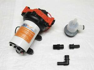 24V 18.9LPM 60PSI 9.0 AMP Automatic Diaphragm Pump - Fresh Water Pressure