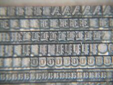 Cloister 8 Pt Letterpress Metal Type Printers Type