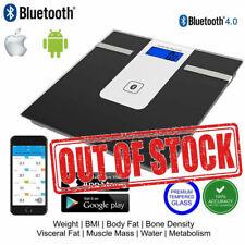 Wireless Bluetooth Digital Body Fat Smart Scale Analyser App BMI As Fitbit iOS
