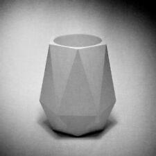 Polygonal Container Concrete Pen Holder Silicone Mold Desktop Cement pot Mould