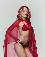 KYLIE MINOGUE - RED HOT - SEXY A4 SIZE GLOSSY PHOTO.