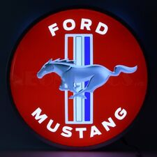 Ford Mustang 15 Inch Backlit Led Lighted Sign by Neonetics