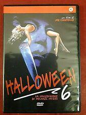 HALLOWEEN 6 - La Maledizione di Michael Myers (1995 )# DVD - Come Nuovo #
