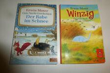 2x Erwin MOSER: Winzig + Der Rabe im Schnee / c 2007 + 2004