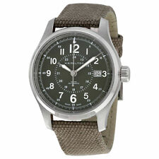 New Hamilton Khaki Field Men's Canvas Strap Watch H70595963