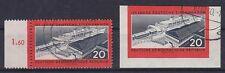 DDR Mi Nr. 805 A, 805 B, gest., 125 Jahre dt. Eisenbahnen 1960, used