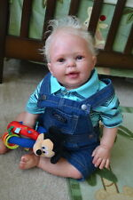 Ooak Reborn newborn baby boy reborn baby toddler Nick  art boy doll  baby  doll