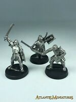 Metal Uruk Captain, Gorbag and Lurtz - LOTR / Warhammer / Lord of the Rings X503