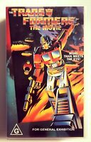 the transformers the movie vhs