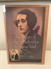 The Letters of Vita Sackville-West to Virginia Woolf HARDCOVER FIRST EDITION 1st