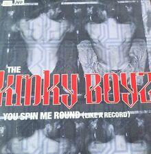 "New listing The Kinky Boyz 1995 Vinyl 12""- You Spin Me Round (Like A Record) Dance Club"
