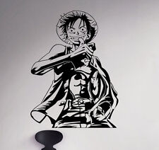 Monkey D. Luffy Wall Decal Straw Hat Vinyl Sticker Anime Home Art Decor 41(nse)