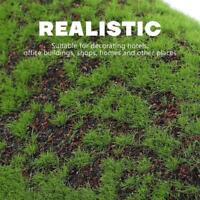 Mikro Landschaftsdekoration Künstlicher Moosrasen DIY Moosgras-Teppich Grün