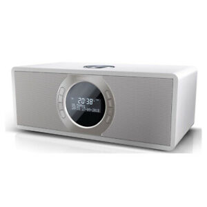 Sharp DR-S460(WH) 30W DAB+ FM Stereo Radio with Bluetooth & LED Display - White